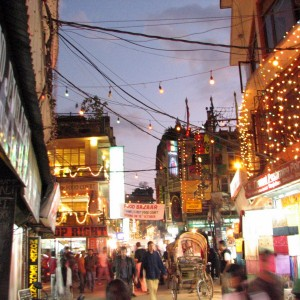 Thamel. Kathmandu, Nepal